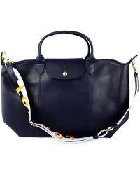 Longchamp Medium Le Pliage Top-handle Bag - Blue