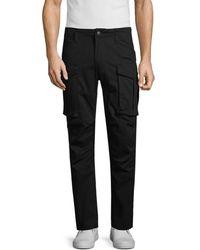 American Stitch Stretch-cotton Cargo Pants - Black