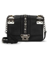Vince Camuto - Bitty Flap Leather Crossbody Bag - Lyst