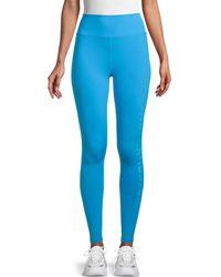 Spiritual Gangster High-waist Leggings - Blue