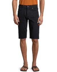 True Religion Ricky Denim Shorts - Black