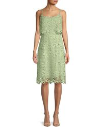 Nanette Nanette Lepore - Lace Sheath Dress - Lyst