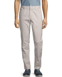 Michael Kors - Slim-fit Five-pocket Twill Trousers - Lyst
