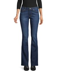 Hudson Jeans Mid-rise Bootcut Jeans - Blue