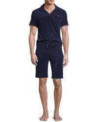 Hom Men's 2-piece Shorts & Tee Pajama Set - Gray - Size Xxl