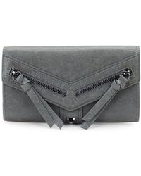 Botkier - Trigger Flap Leather Continental Wallet - Lyst
