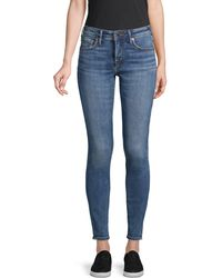 True Religion Jennie Super Skinny Jeans - Blue