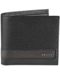 Bally Men's Lollten Bifold Leather Wallet - Black