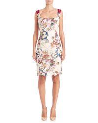 Randi Rahm - Doris Floral Print Lace Dress - Lyst