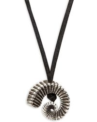 King Baby Studio - Ram Horn Pendant Necklace - Lyst