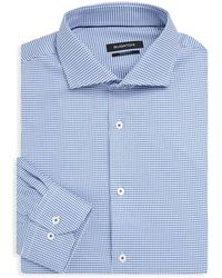 Bugatchi - Shaped-fit Patterned Dress Shirt - Lyst