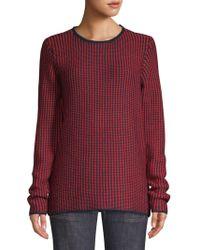 Derek Lam Merino Wool Jumper - Red