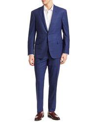 Ralph Lauren Classic-fit Two-button Notch Wool Suit - Blue
