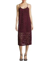 Tibi - Aleyda Sleeveless Cutout Dress - Lyst