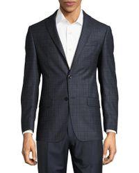 Michael Kors - Plaid Wool Sportcoat - Lyst