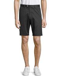 Saks Fifth Avenue Men's Casual Cotton Shorts - White - Size 35