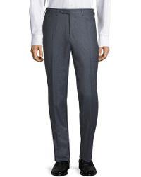 Canali - Classic Wool Dress Pants - Lyst