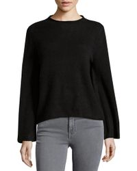 MILLY - Marled Cashmere Sweater - Lyst