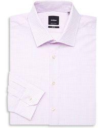 Strellson - Slim Fit Check Dress Shirt - Lyst