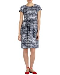 Lafayette 148 New York - 'gina' Pleated Dress - Lyst