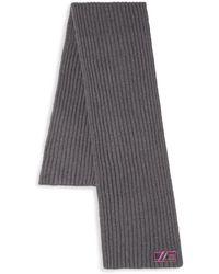 Class Roberto Cavalli - Hand-knit Wool Scarf - Lyst