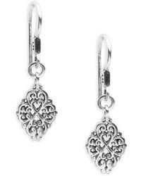 Lois Hill - Sterling Silver Drop Earrings - Lyst
