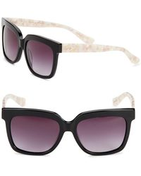O By Oscar De La Renta - 55mm Square Sunglasses - Lyst