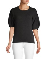 Laundry by Shelli Segal - Elbow-length Puff-sleeve Jumper - Lyst
