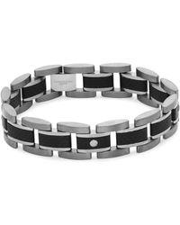 Tateossian | Titanium And Germanium Link Bracelet | Lyst