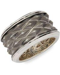 Effy - Sterling Silver Eternity Ring - Lyst