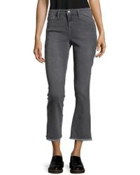 Free People - Straight Crop Jeans - Lyst