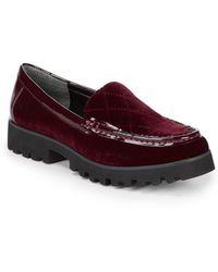 Donald J Pliner - Renee Slip-on Platform Loafers - Lyst