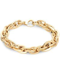 Saks Fifth Avenue 14k Gold Link Chain Bracelet - Metallic