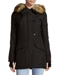 S13/nyc - Faux Fur Parka - Lyst