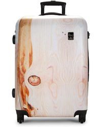 Mia Toro - 26-inch Spinner Suitcase - Lyst