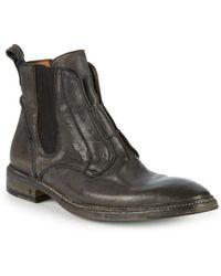 John Varvatos - Norwegian Leather Laceless Chelsea Boots - Lyst