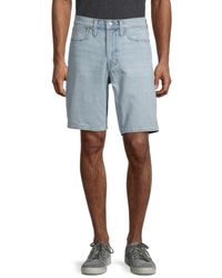 Madewell Men's Relaxed-fit Denim Shorts - Blue - Size 29