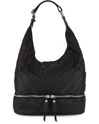 Sam Edelman Quilted Hobo Bag - Red