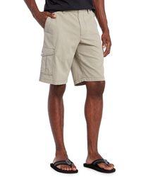 Tommy Bahama Sandbar Ripstop Cargo Shorts - Natural