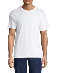 Vince Short-sleeve Cotton Tee - Grey