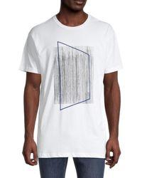 Vestige Men's Untitled Graphic T-shirt - White - Size S
