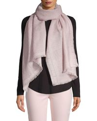 Badgley Mischka Paisley Palace Metallic Scarf - Black