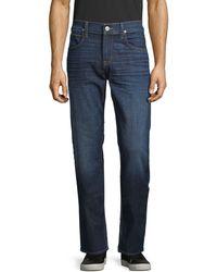 Hudson Jeans Byron Straight Jeans - Blue