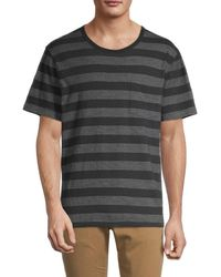 Madewell Striped Crewneck T-shirt - Black