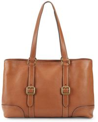 Frye - Lily Leather Tote - Lyst