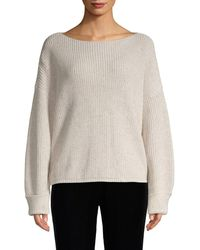 French Connection Ribbed Cotton Jumper - Gray