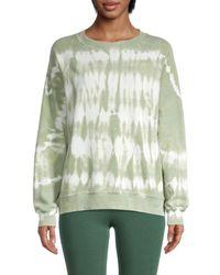 Wildfox - Women's Tie-dyed Cotton Sweatshirt - Surf Line - Size Xs - Lyst