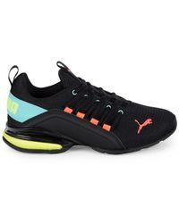 PUMA Women's Axelian Mesh Sneakers - Black - Size 5.5
