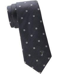Versace - Square Silk Tie - Lyst