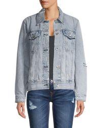 Rag & Bone Women's Denim Jacket - Olson - Size Xxs - Blue